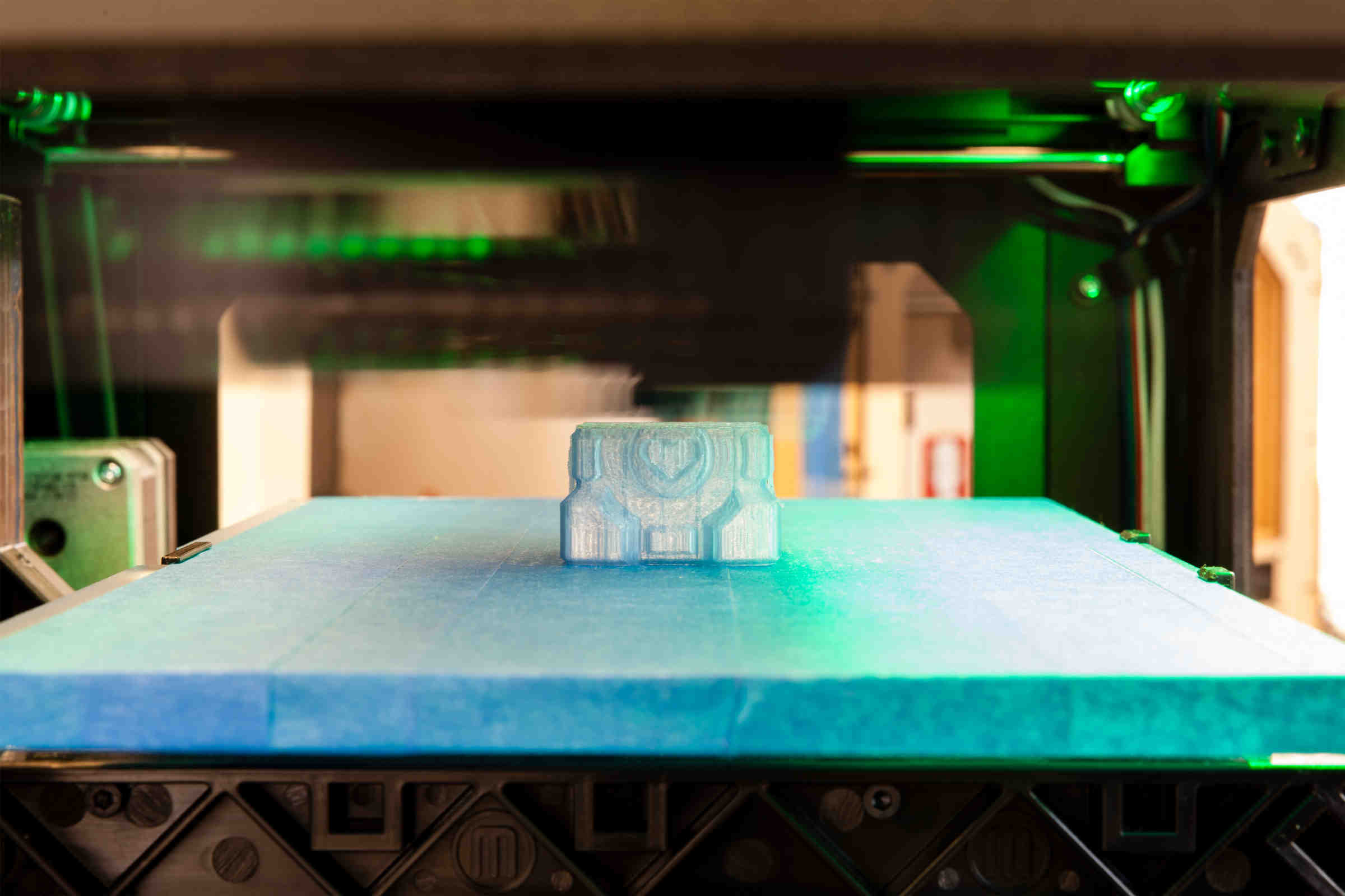 [Default image] Makerspace printing in process